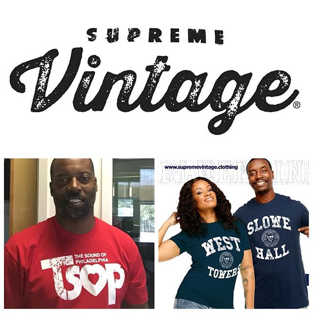Much LOVE & SUPPORT to the fine folks over @supremevintageclothing They are doing some wonderful things with the HowardUniversity dorm paraphernalia. My guy @jerrell634 fitted me with this Vintage TSOP TheSoundsOfPhiladelphia t-shirt - One of my FAVORITE all time music labels!!! Blessings to Gamble & Huff. LifeStyleClothing LegacyExpressedThroughFashion