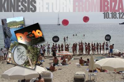 Kinesis (live) Return From Ibiza