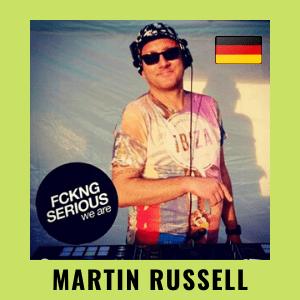 Martin Russell DJ LIVE STUDIO