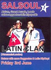 Salsoul Latin Clan flier