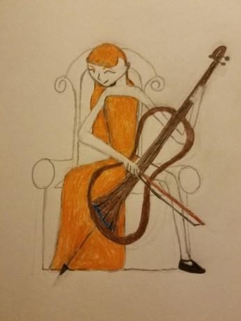 Anastasia with electric cello