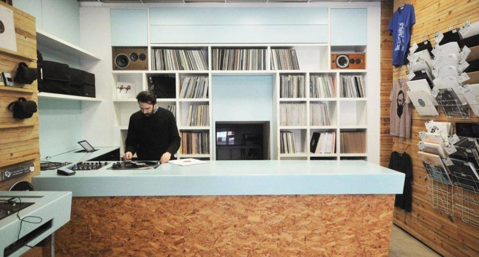 THERE'S A NEW RECORD STORE OPENING IN EAST LONDON