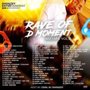 naija party mix download dj shogzey rave of the moment mixtape vol 2