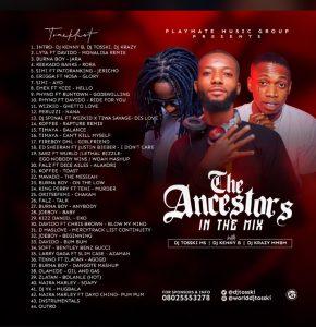 dj-tosski-the-ancestors-in-the-mix-ft-dj-kenny-b-dj-kray-mmbm-tracklist