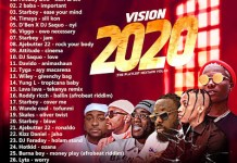 DJ Limbo Mp3 Download - Vision 2020 The Playlist Mixtape Vol 22
