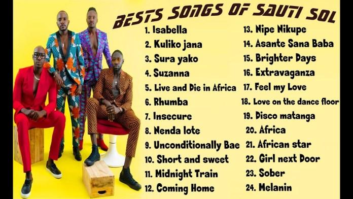 Best Of Sauti Sol Mixtape Mp3 Download - Sauti Sol Mix Audio
