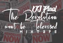 DJ Final The Revolution Wont Be Televised Mixtape
