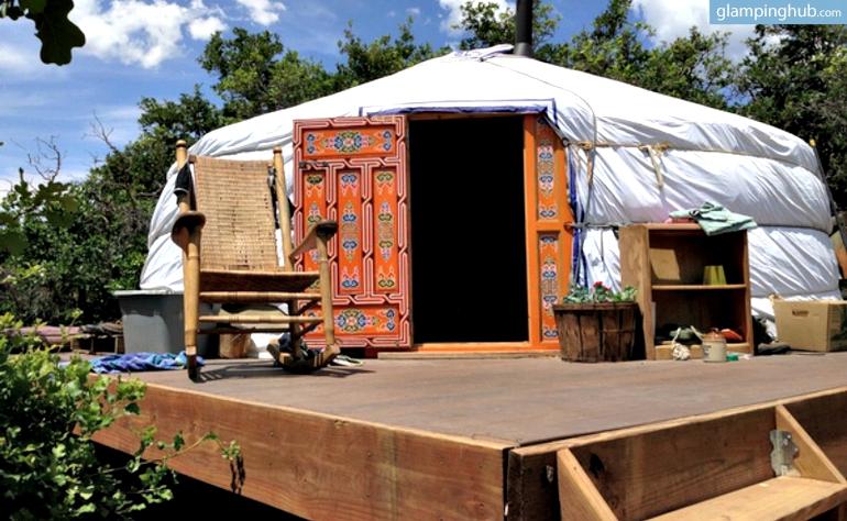 Luxury Yurt Colorado
