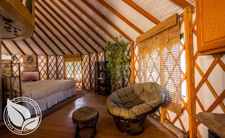 Yurt Camping California Coast
