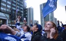Crowd at Game #6 Boston vs. Toronto 2013 - Toronto, Ontario