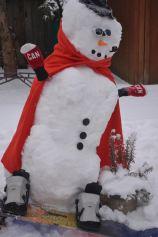 Snowboarder Snowman