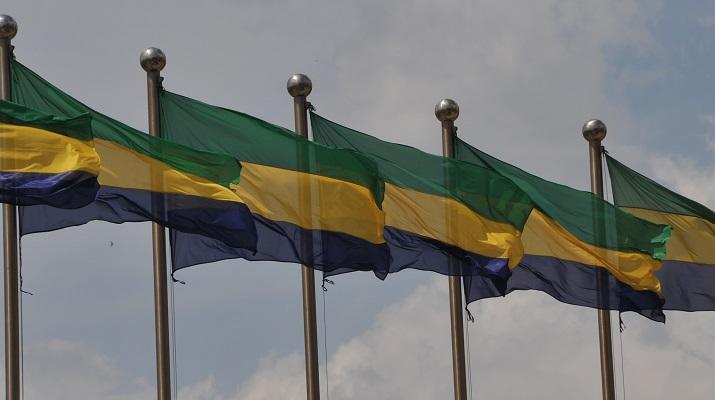 Gabon Libreville indépendance flag drapeau