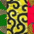 Mali drapeau pagne independance
