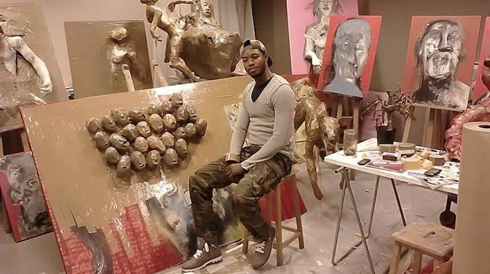 Tresor Mukonkolé Art plastique congo rdc djolo