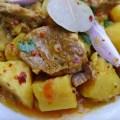 Bonava ragout d'agneau mauritanien Mauritanie oignons pommes de terre