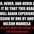 Nelson Mandela Cassper Nyovest #NoToXenophobia concert de Harare Single for the night