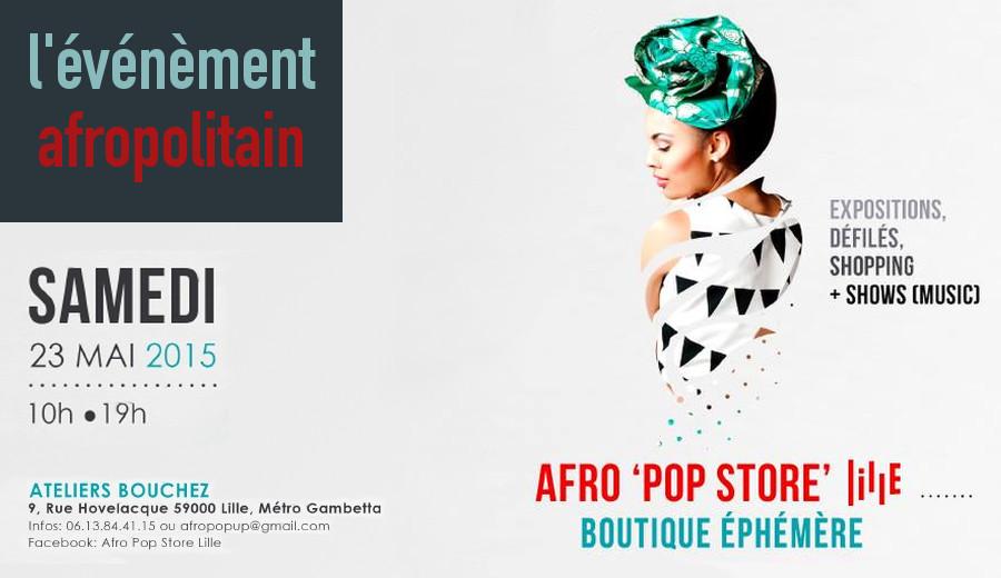 Afro Pop Store Lille Bouchez djolo