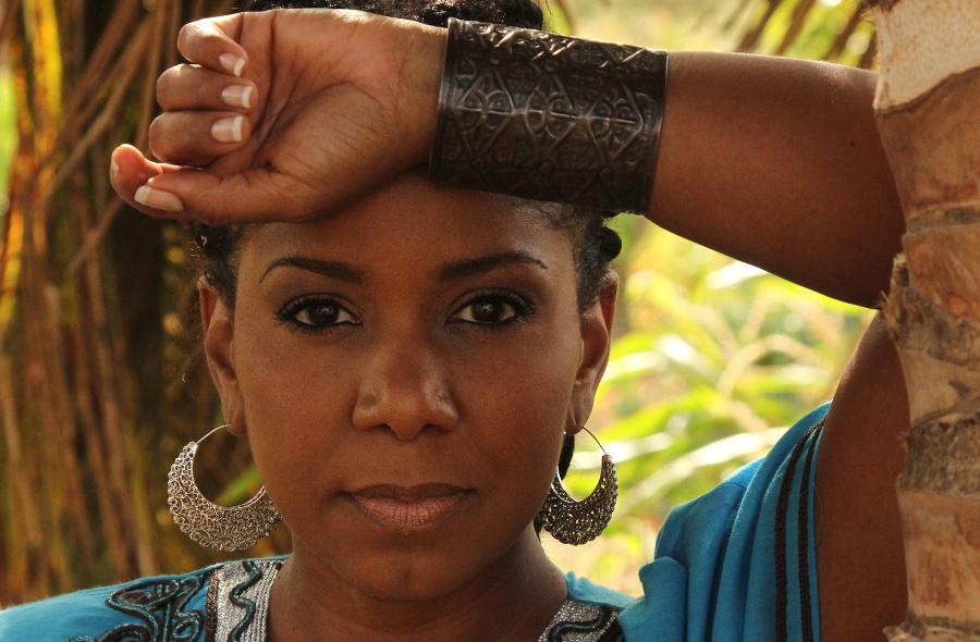 Nancy Viera, morna, en live, africa festival Djolo Cap-Vert