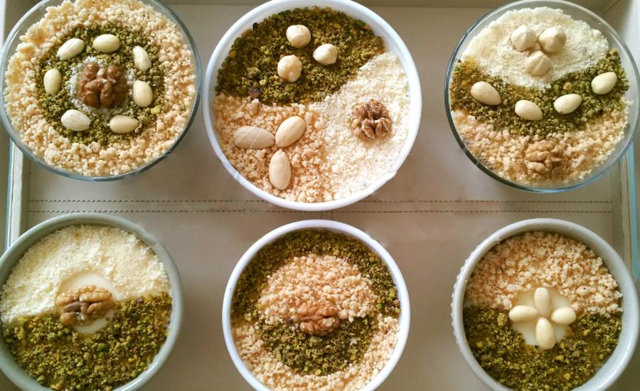 Assida Boufriwa, la crème de noisette tunisienne et festive
