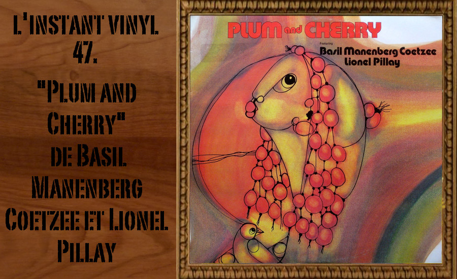 L'instant Vinyle Plum and Cherry Coetzee Pillay