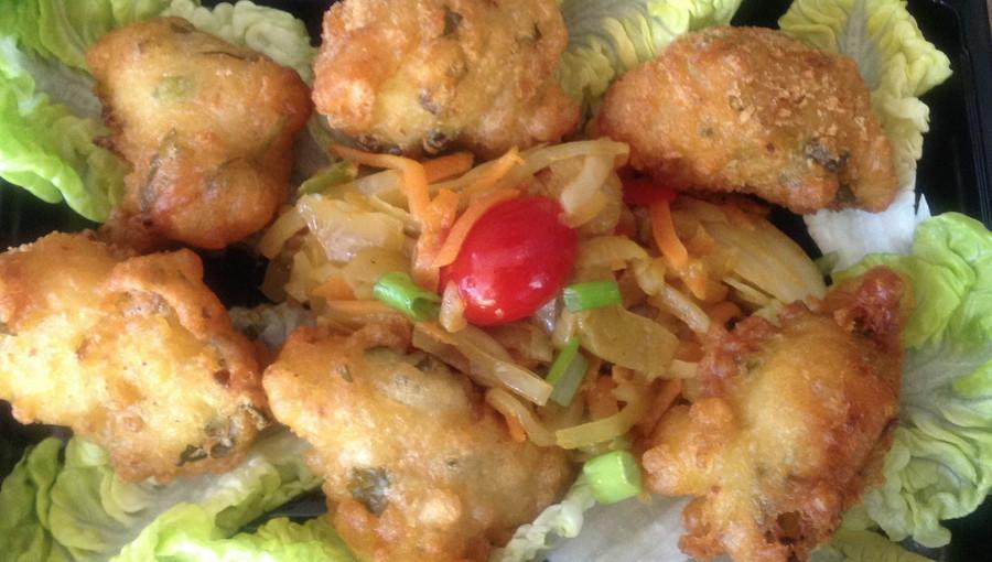 Mofo anana, les beignets de cresson malgaches