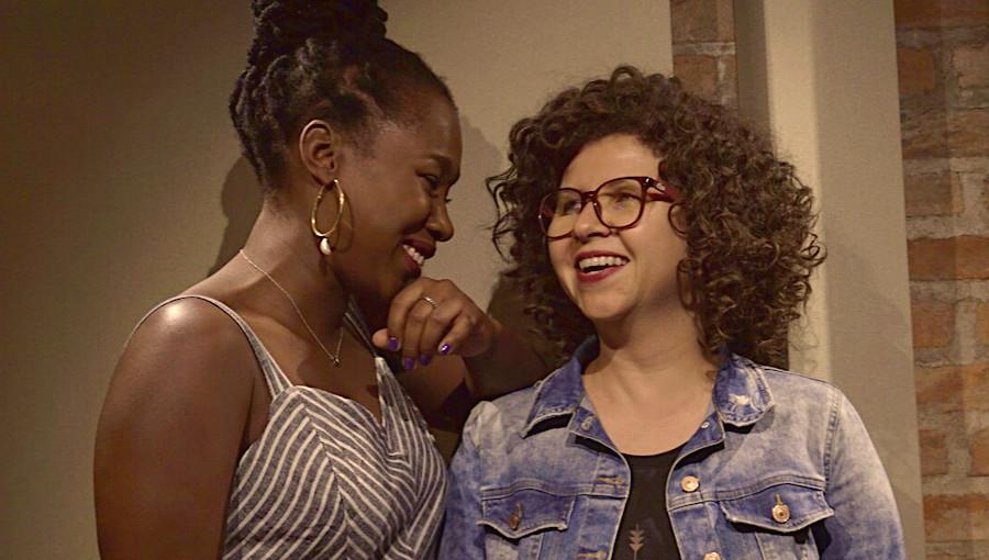 Elida Almeida, Roberta Campos, Ta Due, rencontre, chanteuse cap-verdienne, chanteuse brésilienne, chanson d'amour, telenovela, feat, Lusafrica, nouveau clip