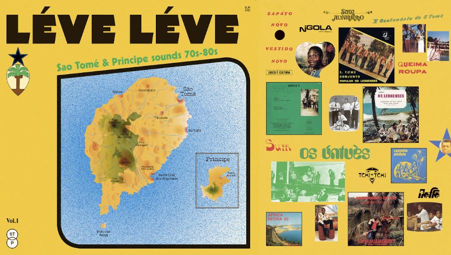 Léve Léve, Sao Tomé & Principe sounds 70s-80s, musique de sao tomé, Coladeira, socope, puxa, batuque, semba, africa negra, os untués, conjunto Mindelo