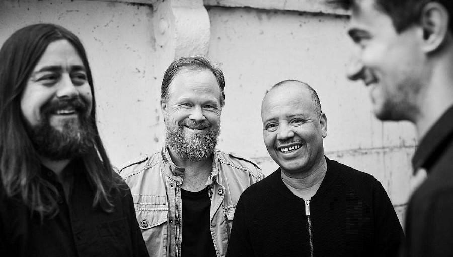 Majid Bekkas, gnawa, jazz, jazz scandinave, Magic Spirit Quartet, nouvel album, ACT, fusion, Goran Kajfes, Jesper Nordenstrom, Stefan Pasborg