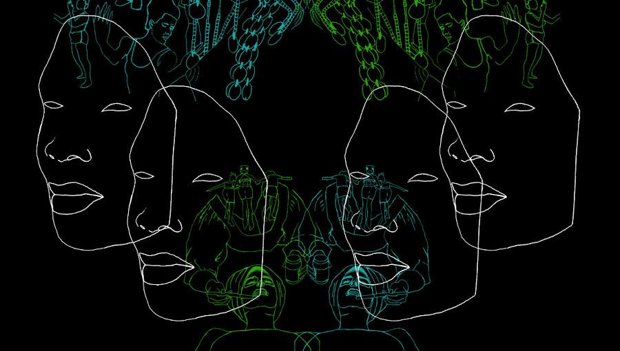 dumama, kechou, dumama + kechou, buffering juju, premier album, Angel Bat Dawid, Shane Cooper, jazz, jazz sud-africain, cape town, Dylan Greene, siya makuzeni, dion monti, nobuhle ashanti, guembri