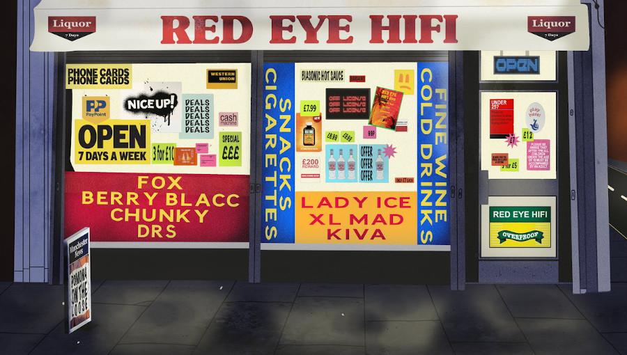 Red Eye Hi Fi, Xl Mad, Kiva, Chunky, berry blacc, fox, lady ice, dancehall, soca, kuduro, bashment, premier album, overproof, Manchester