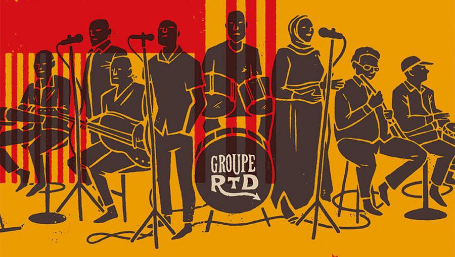The Dancing Devils of Djibouti, Djibouti, musique de Djibouti, Groupe RTD, Radiodiffusion Television Djibouti, RTD Ostinato Records, nouvel album, Vik Sohonie