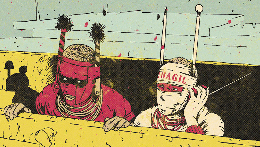 The Beginning, the Medium, the End and the Infinite, Ikoqwe, Batida, Ikonoklasta, hip hop, musique electronique, field recordings, Hugh Tracey, Crammed Discs, Angola, octa push, portugal, rap, spoek mathambo