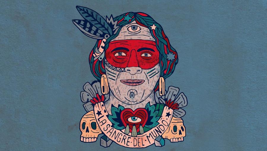 La Sangre Del Mundo, Muerdo, nouvel album, flamenco, charango, amerique du sud, Lida Pimiento, El Nino De Elche, Chanca Via Circuito, folklore, pop, poésie, murcie, Perota Chingo, argentine, chili, chanson
