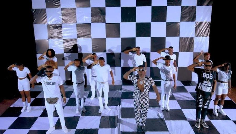 H Baba, Harmonize, Awilo Longomba, bongo flava, ndombolo, soukous, rumba, feat, attitude, elvis, nouveau clip, musique tanzanienne, musique congolaise, musique africaine