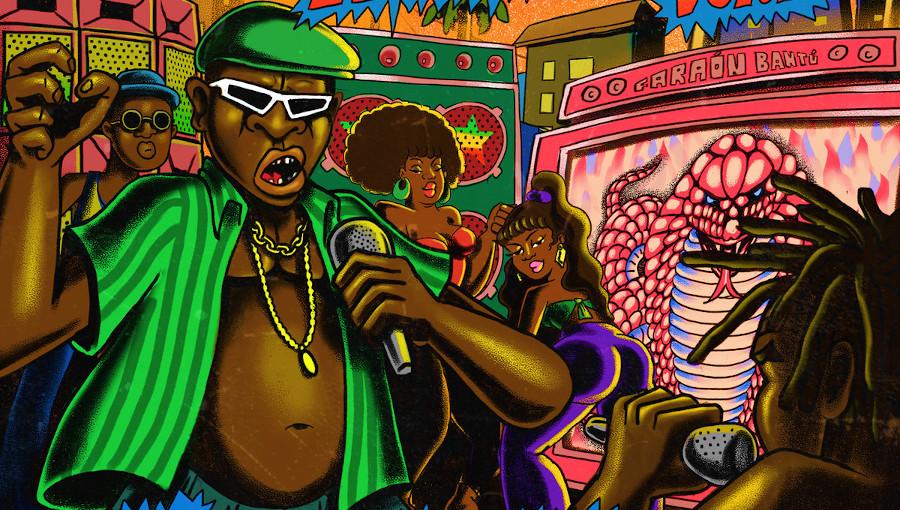 Super Black, ChampetaMan, Lucas Silva, dancehall, toaster, Palenque Records, Palenque Rockers Vol. 1, Little Harry, King kong, Carl Dawkins, reggae, dub, nouvel album, Jamaique
