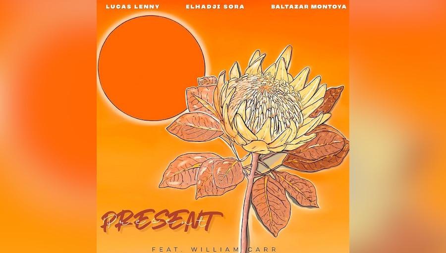 Lucas Lenny, Elhadji Sora, Present, William Carr, Baltazar Montoya, kora, pop américaine, fusion, senegal, kora senegalaise, tradition, mélange, nouveau titre, californie