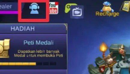 Menghubungi Custumer Service Game Mobile Legends