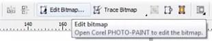Edit Bitmap CorelDraw - Cara Mengganti Background Foto Di CorelDraw Dengan Mudah