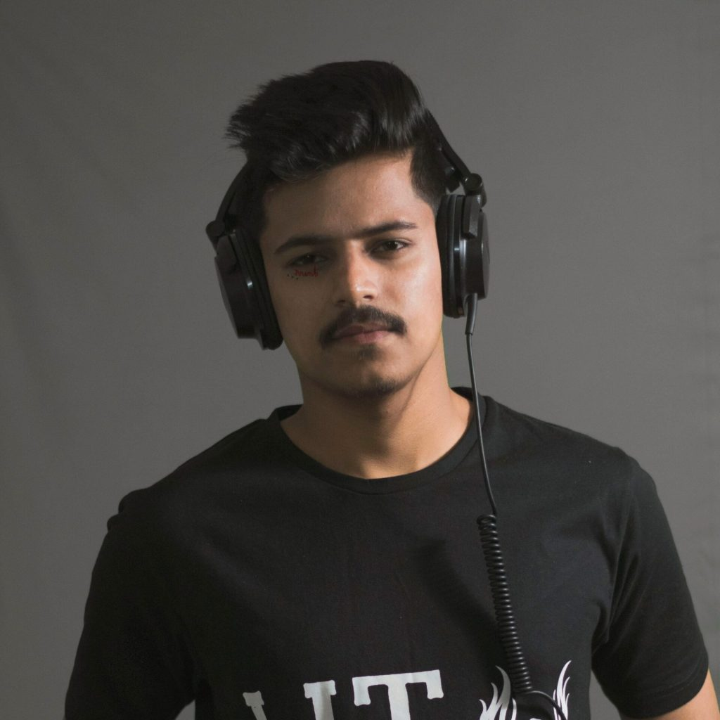 DJ Palash Studio shoot