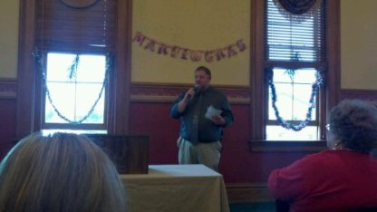 Jimmy Weaver hosts the 2012 Troy Strawberry Festival Kick Off