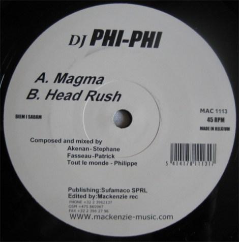 """phi phi """"Magma + head rush"""" on Mackenzie"""