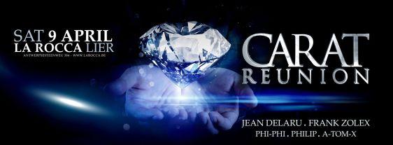 Flyer carat Reunion @ La Rocca 09 04 2016_o