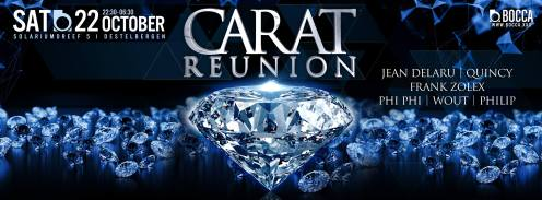 Carat Reunion # BOCCA 22/10/16