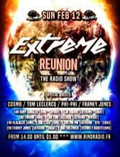 extreme reunion radio show on rind