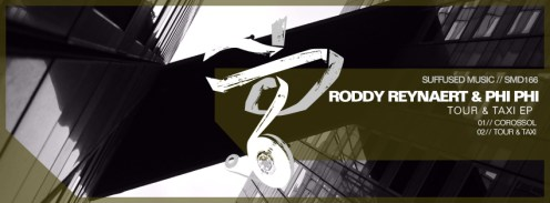 """Phi Phi & Roddy Reynaert """"Tour & Taxi EP"""""""