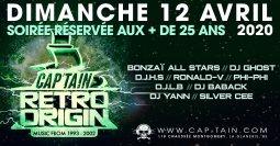 Retro Origin @ Cap'Tain 12/04/2020