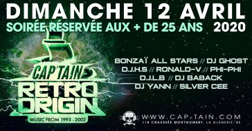 Retro Origin @ Cap'Tain 12/04/2020