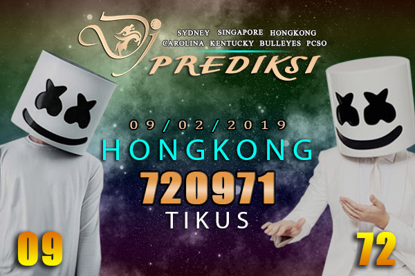 Prediksi Togel HONGKONG 9 Februari 2019 Hari Sabtu