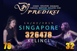 Prediksi Togel SINGAPORE 14 Februari 2019 Hari Kamis