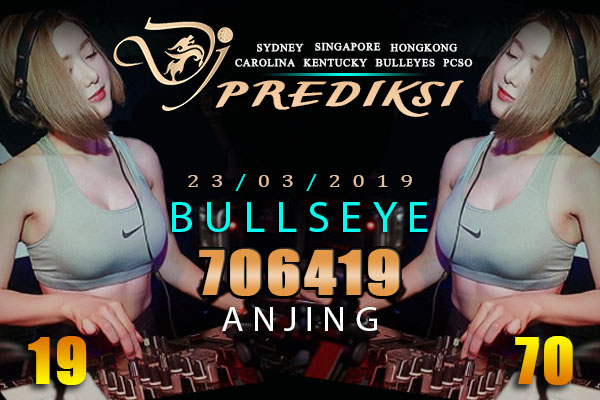 Prediksi Togel BULLSEYE 23 Maret 2019 Hari Sabtu